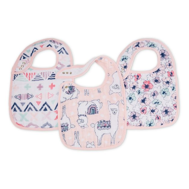 Aden + Anais: Classic Snap Bib - Trail Blooms (3 Pack)