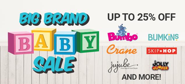 Big Brand Baby Sale