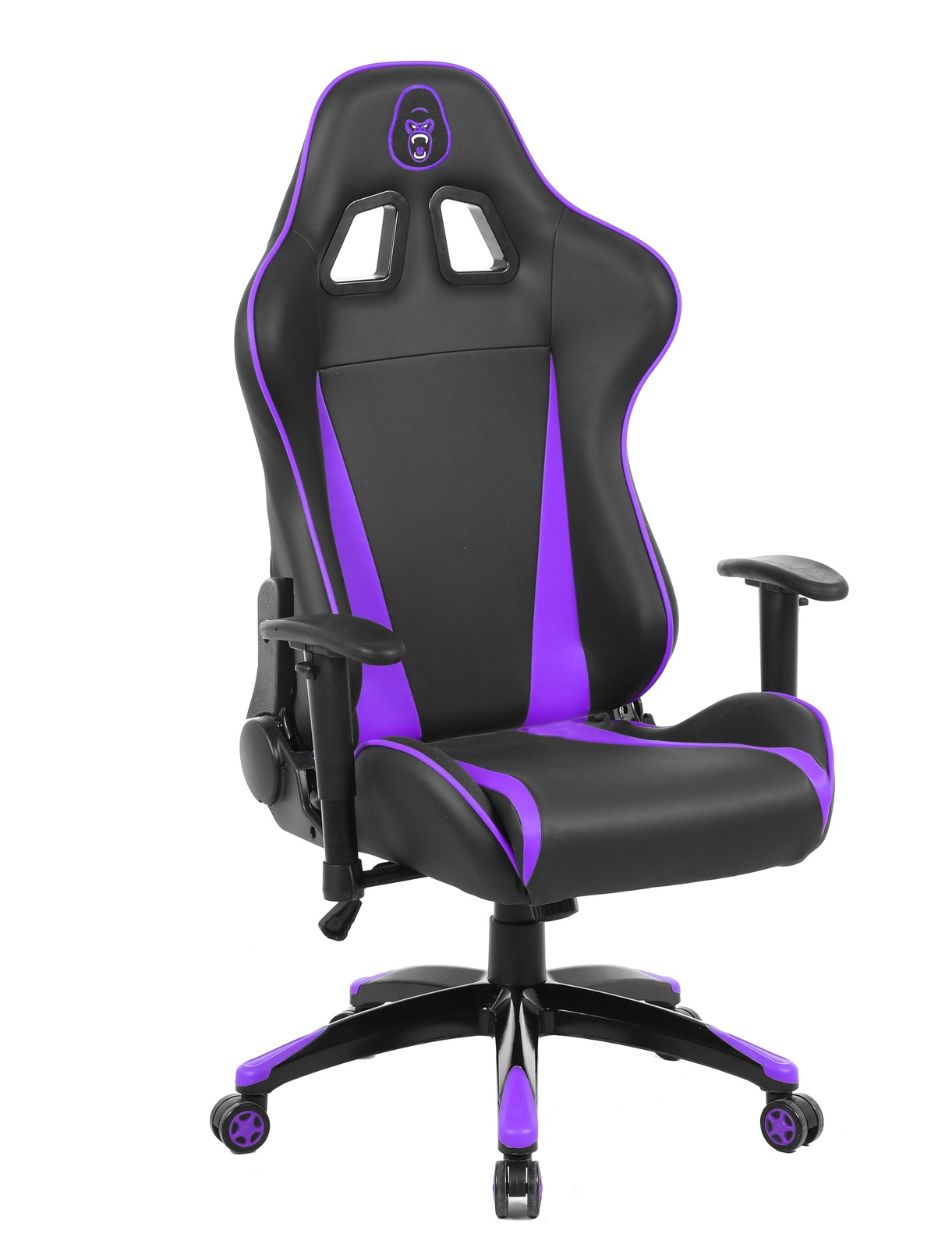 Gorilla Gaming Commander Chair - Purple & Black for  image