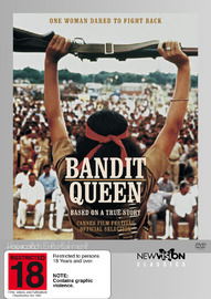 Bandit Queen on DVD image