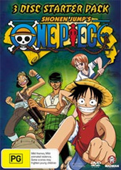 One Piece V1-V3 Starter Pack (Slimpack) on DVD