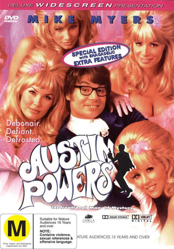 Austin Powers - International Man of Mystery on DVD