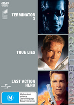 Terminator 3 / True Lies / Last Action Hero - 3 DVD Collection (3 Disc Set) on DVD