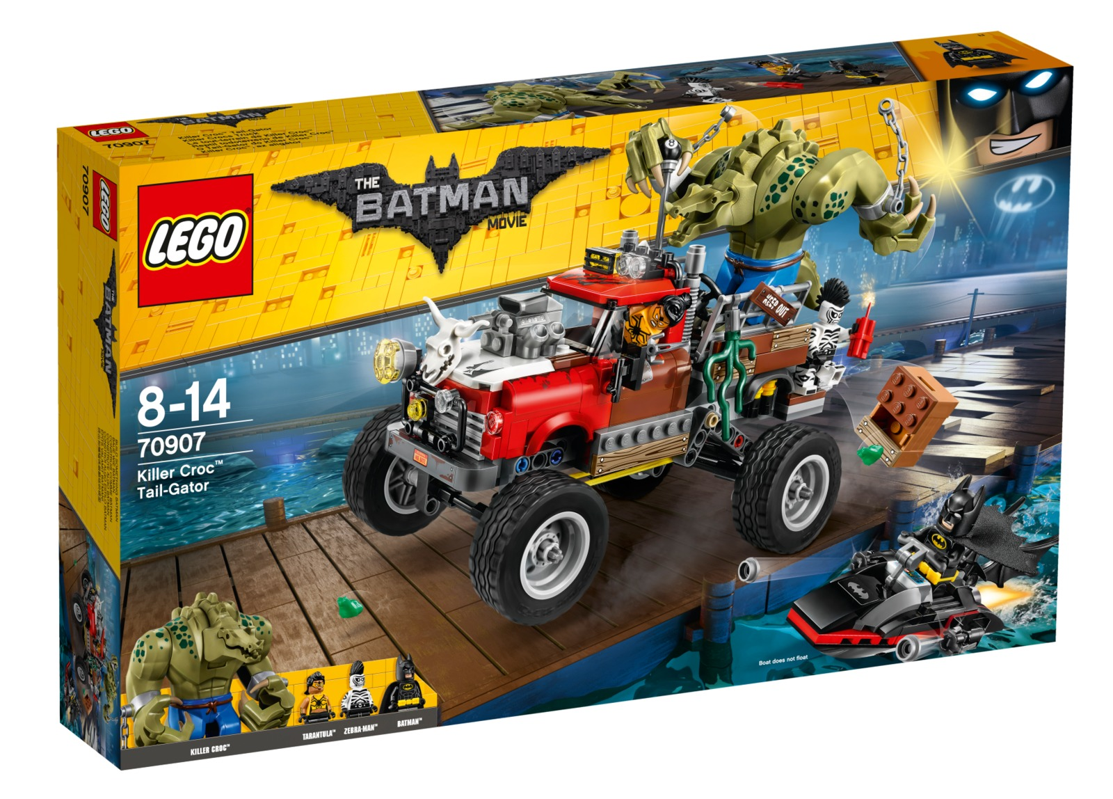 LEGO Batman Movie: Killer Croc Tail-Gator (70907) image