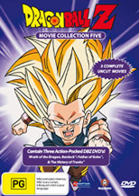 Dragon Ball Z Movie Collection 5 (Movie 13 + TV Specials) (3 Disc Box Set) on DVD