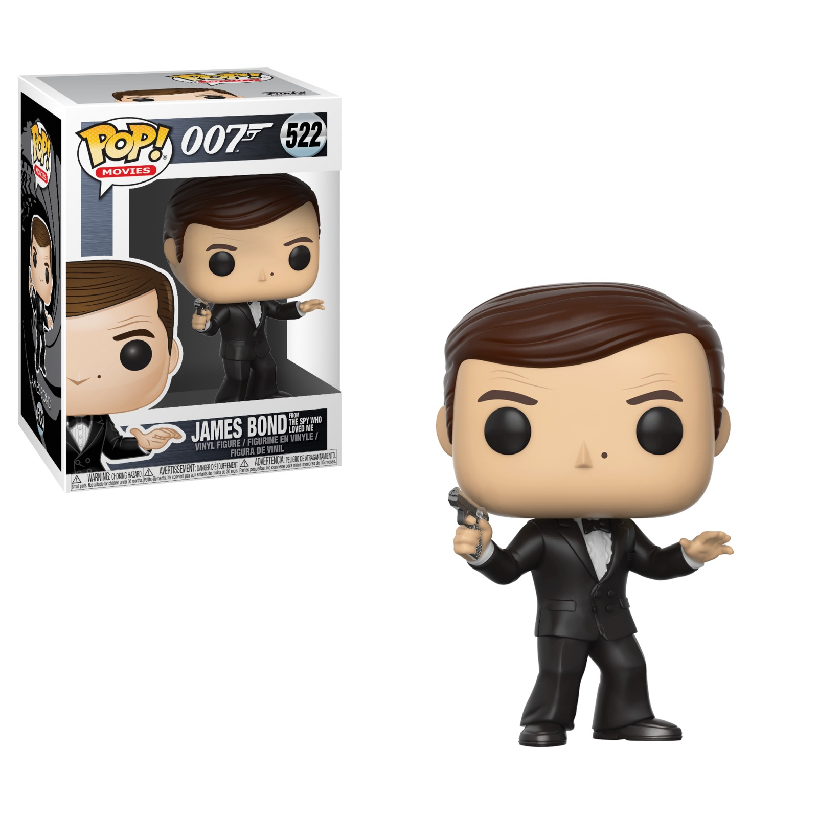 James Bond (Roger Moore Ver.) - Pop! Vinyl Figure image