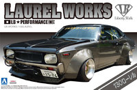 Aoshima: 1/24 LB Works 130 Laurel Model Kit