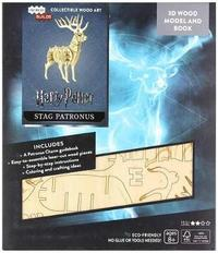 IncrediBuilds: Harry Potter: Stag Patronus Deluxe Book and Model Set by Jody Revenson