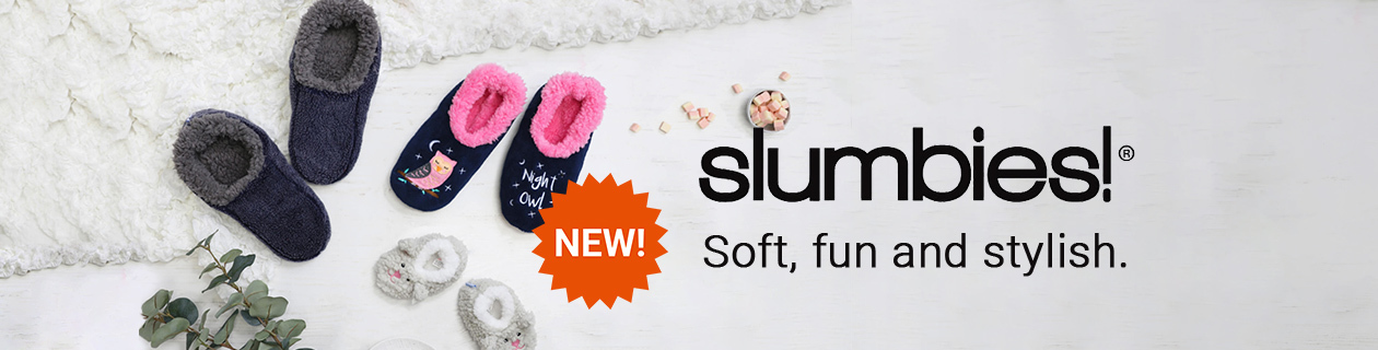 Soft, fun & stylish Slumbies have arrived!