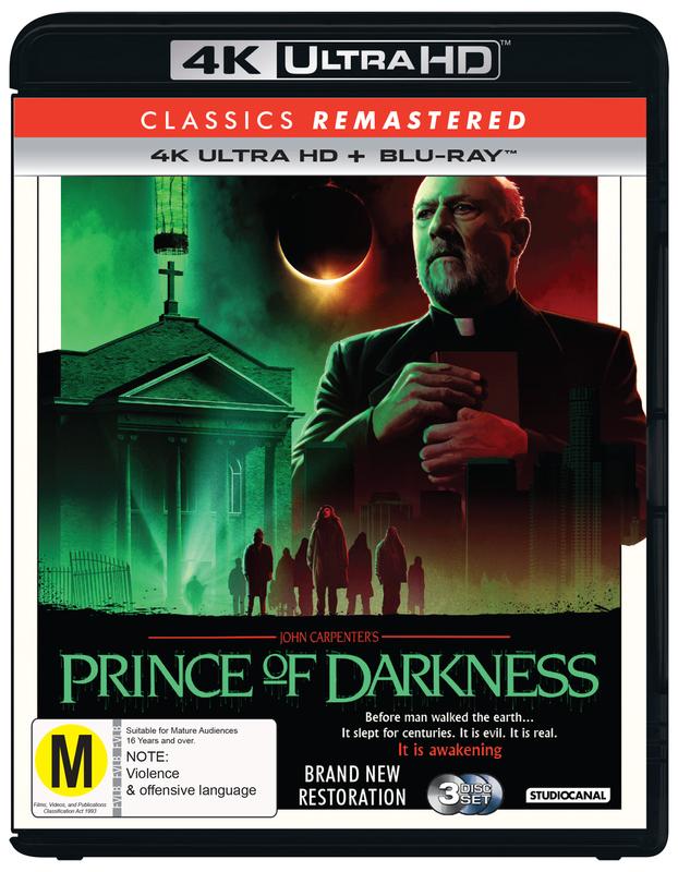Prince Of Darkness (1987) on Blu-ray, UHD Blu-ray