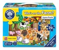 Orchard Toys: Who's On The Farm? - Jigsaw Puzzle