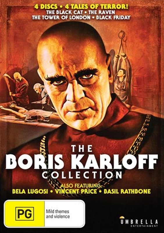 The Boris Karloff Collection on DVD