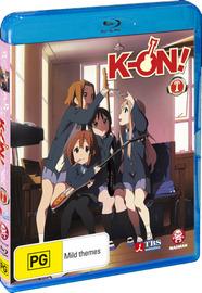 K-On! Vol. 01 on Blu-ray image