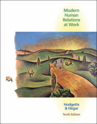 Modern Human Relations at Work: With Infotrac by Richard M Hodgetts image