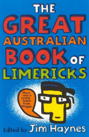 The Great Australian Book of Limericks by Jim Haynes image