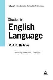 Studies in English Language by M.A.K. Halliday