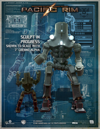 "Pacific Rim Cherno Alpha 18"" Action Figure"