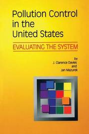 Pollution Control in United States by J.Clarence Davies image