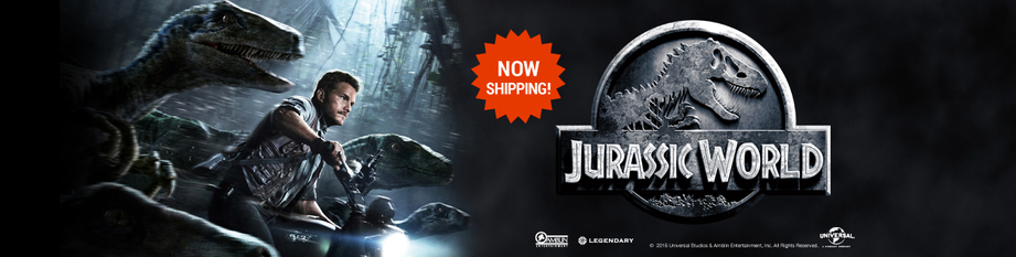 Jurassic World Available Now