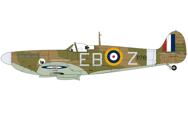 Airfix 1:72 Supermarine Spitfire Mk.VA - Model Kit image