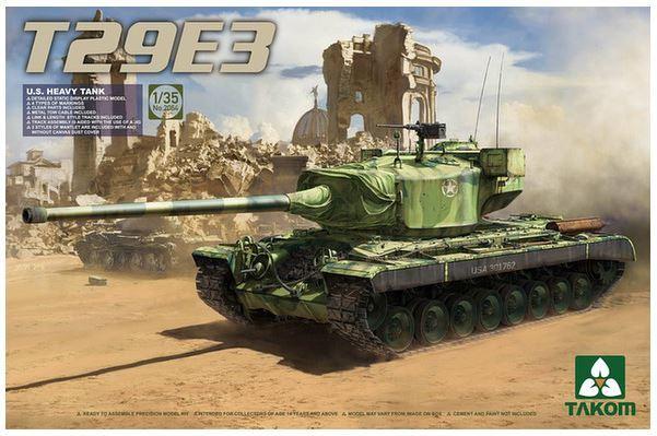 Takom 1/35 U.S. Heavy Tank T29E3 Model Kit