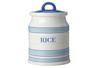 Maxwell & Williams: Coastal Stripes Canister - Rice (1.5L) Gift Boxed