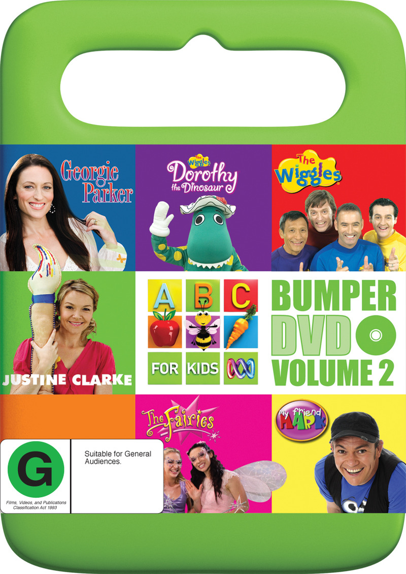 ABC For Kids Bumper DVD - Volume 2 on DVD image