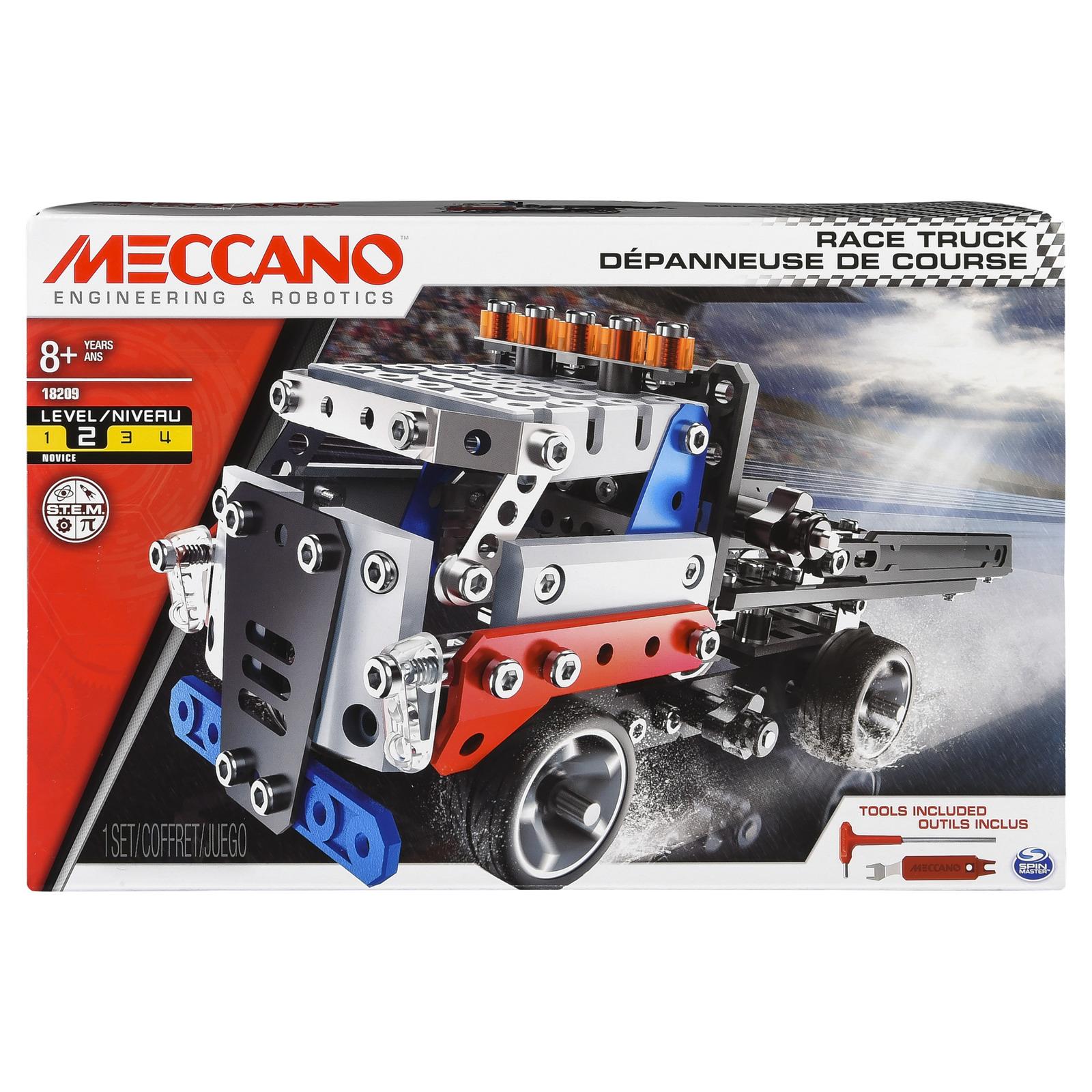 Meccano: Race Truck Building Kit image