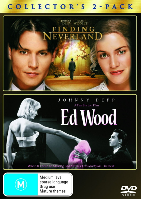Finding Neverland / Ed Wood - Collector's 2-Pack (2 Disc Set) on DVD image