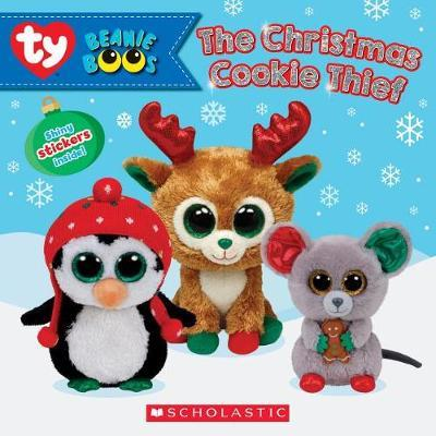 The Christmas Cookie Thief (Beanie Boos: Storybook with Stickers) by Meredith Rusu