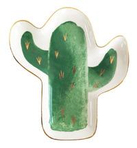 Green Cactus Dish (16cm)