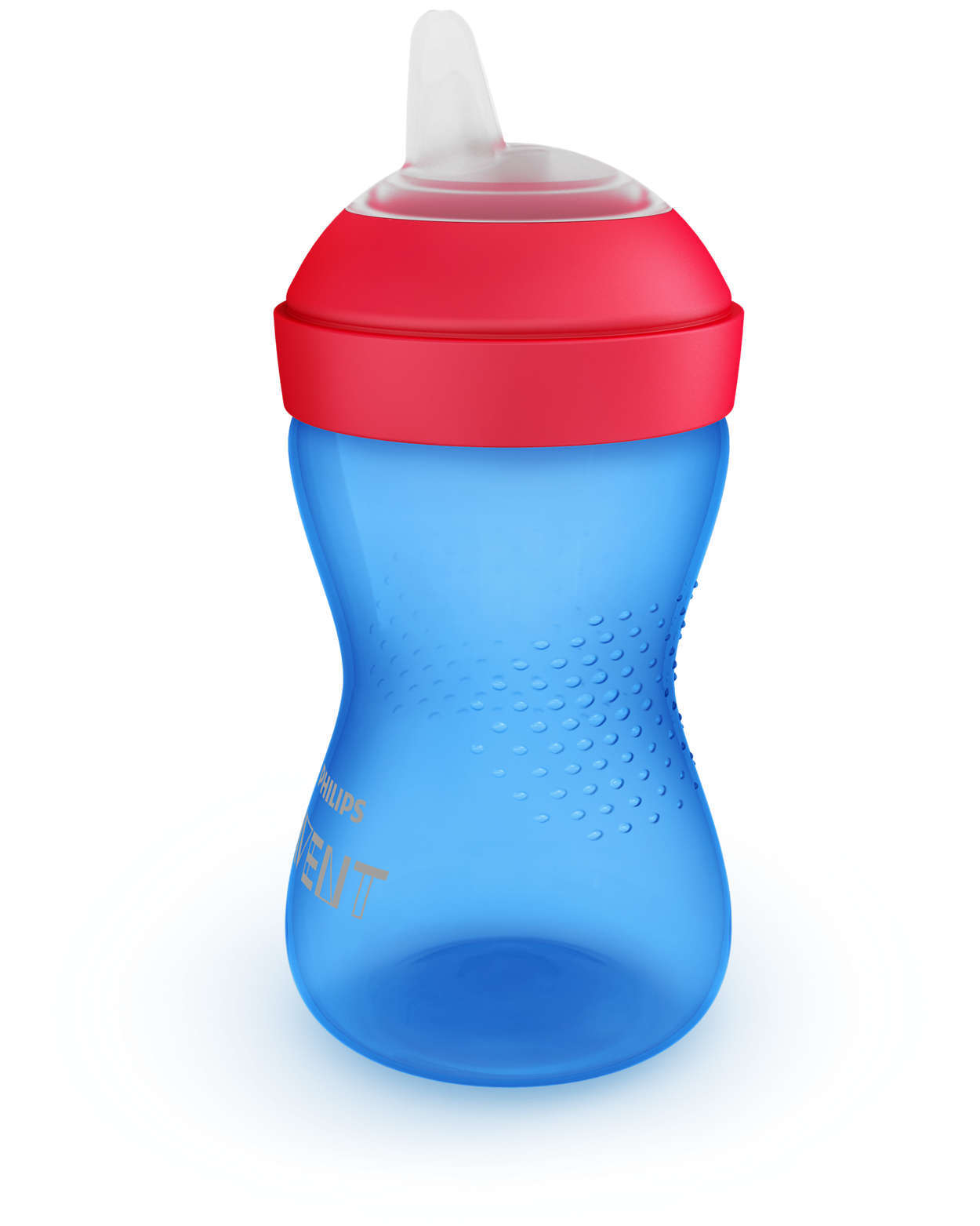 Avent Grippy Cup Soft - 300ml (Blue) image