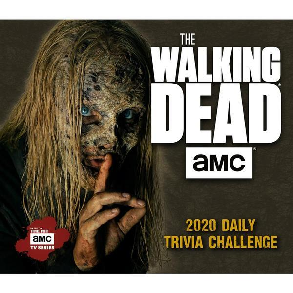 The Walking Dead AMC Daily Trivia Challenge 2020 Boxed Calendar by AMC image