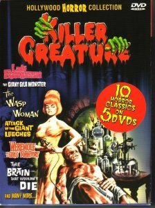 Killer Creature (5 Disc) on DVD image