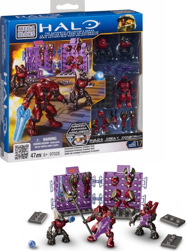 Mega Bloks Halo Crimson Covenant Combat Unit