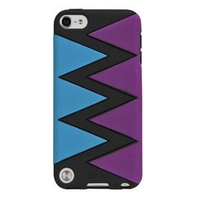 Gecko Swirl Case for iPod Touch 5G (Blue/Purple)