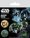 Star Wars Rogue One Pin Badges 5-Pack Empire