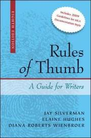 Rules of Thumb by Jay Silverman image