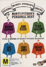 Monty Python's Flying Circus - Monty Python's Personal Best (3 Disc Set) on DVD image