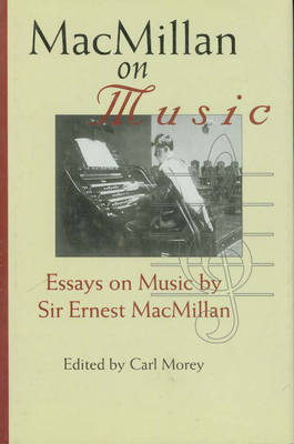MacMillan on Music image