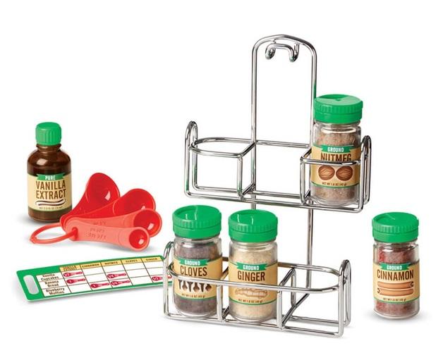 Melissa & Doug: Lets Play House - Baking Spices Set
