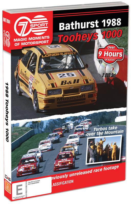 Magic Moments Of Motorsport: 1988 Tooheys 1000 on DVD