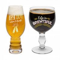 BigMouth – Beer Snob Glass Set