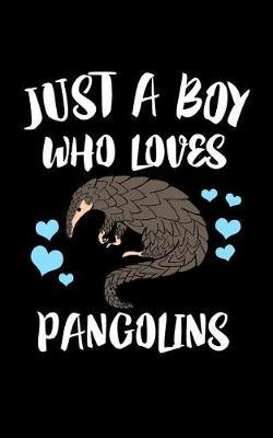 Just A Boy Who Loves Pangolins by Marko Marcus image