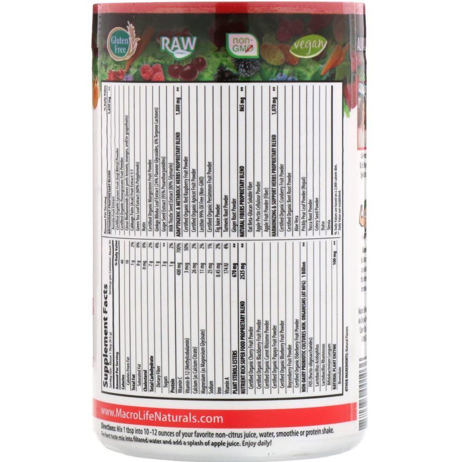 MacroLife Naturals Miracle Reds (30 servings) image