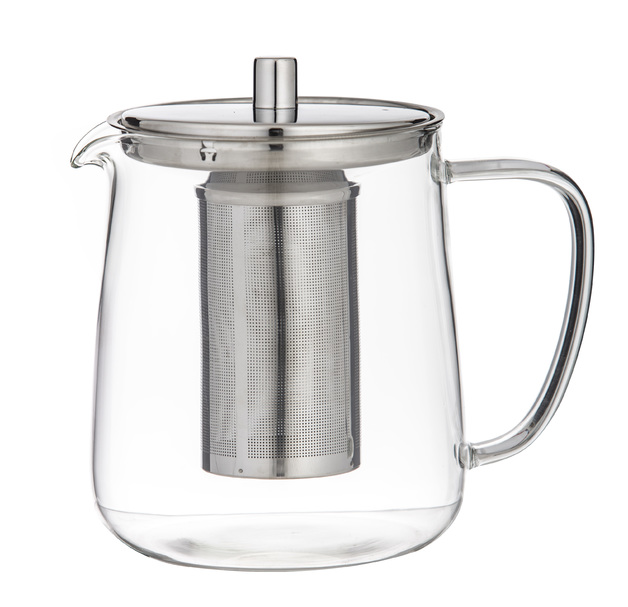 Leaf & Bean: Oslo Glass Teapot with Infuser (17.5x12x17cm/5 cup/1L)