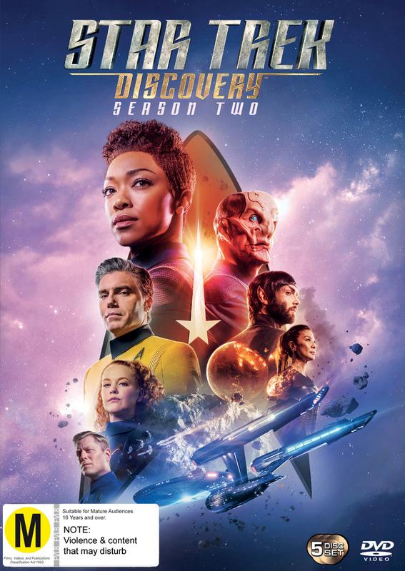 Star Trek Discovery: Season 2 on DVD