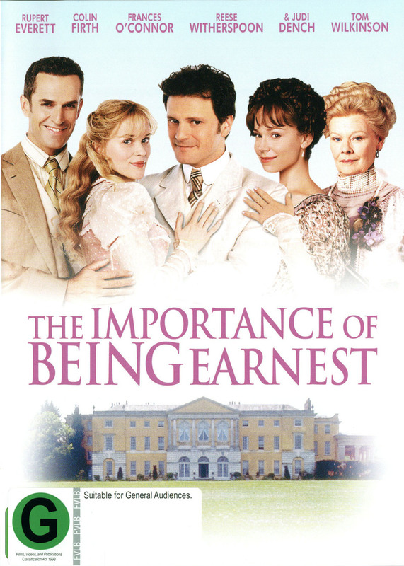 The Importance of Being Earnest on DVD