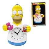 The Simpsons Homer Simpson Animated Wall Clock