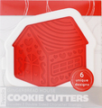 Tovolo - Gingerbread House Cookie Cutter Set